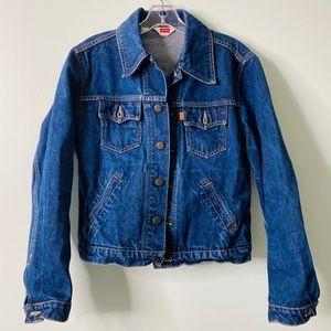 Rare Levi's Made in Italy Orange Tag Denim Jacket